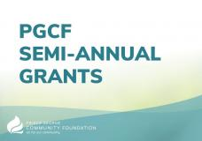 PGCF Semi-Annual Grant Cycle